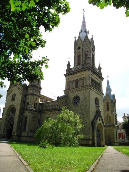 Cathérale catholique Saint Joseph, style néogothique